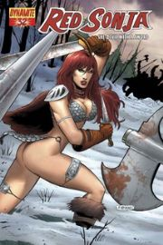 Red Sonja #32 Neves Cover 1:4 Dynamite Entertainment US Import